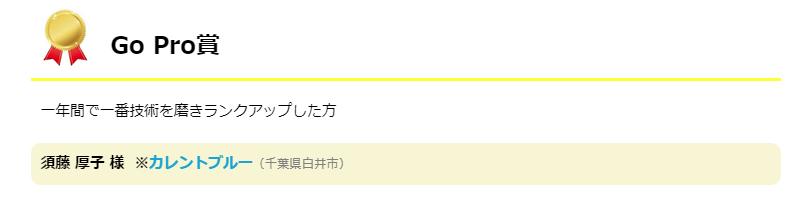 GoPro賞