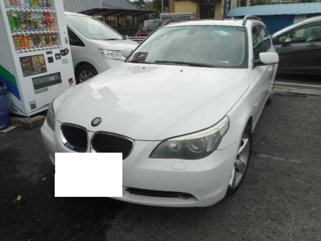 東久留米市 BMW 525i 継続車検