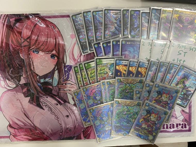 Card Slash(香港)1ブロック大会優勝 青緑t黒チームウェイブ GingWaveさん 代理投稿:Mosouさん