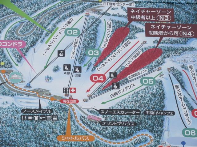 からすの山歩き 札幌手稲スキー場の里山(聖火台・大観覧車・千尺峰) 6月14日(日)管理道コース 所要2時間