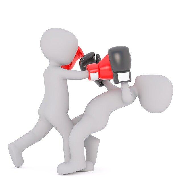 ボクシングKO_TKO