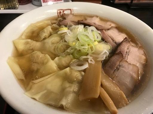 喜多方ラーメン坂内ワンタンチャーシュー