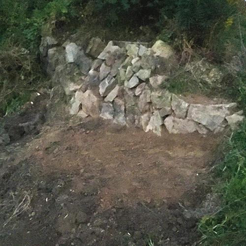 【DIY】畑に物置とトイレを作る! ~整地・配管~⑦