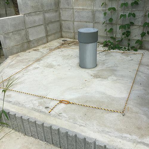【DIY】畑に物置とトイレを作る!⑧ ~必要な時だけ用意するトイレ~⑤