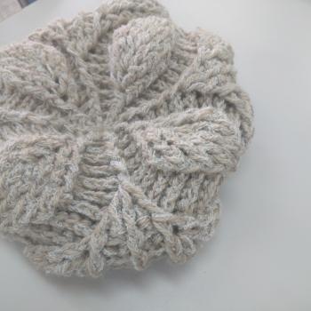リーフ編み3