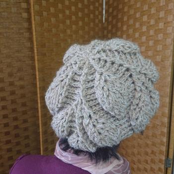 リーフ編み2
