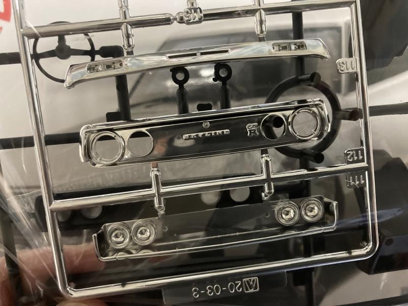 アオシマ ケンメリ GT-R リニューアル 新規グリル