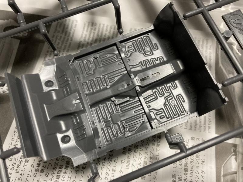 ハセガワ AE92 レビン GTAPEX