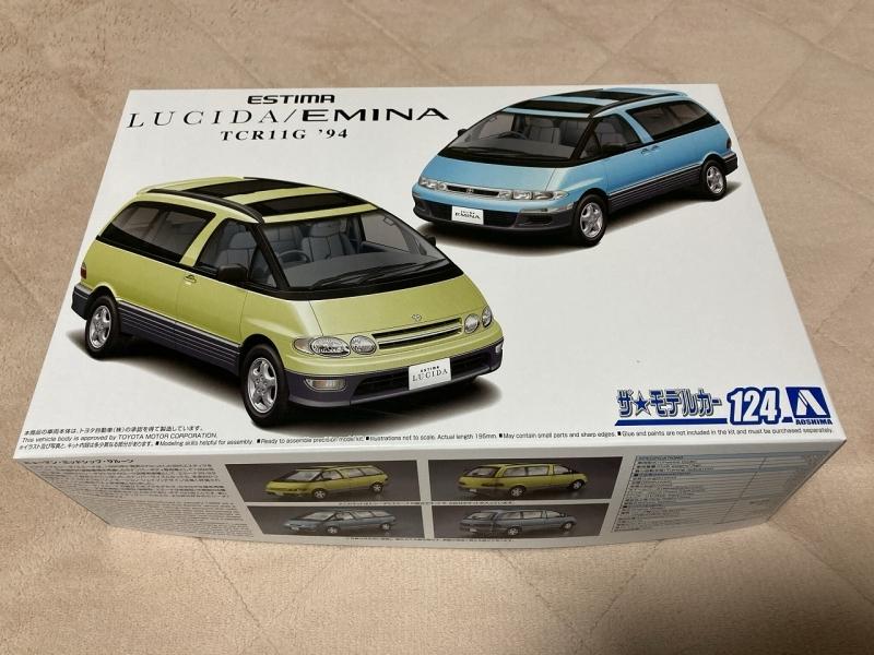 アオシマ モデルカー ルシーダ エミーナ