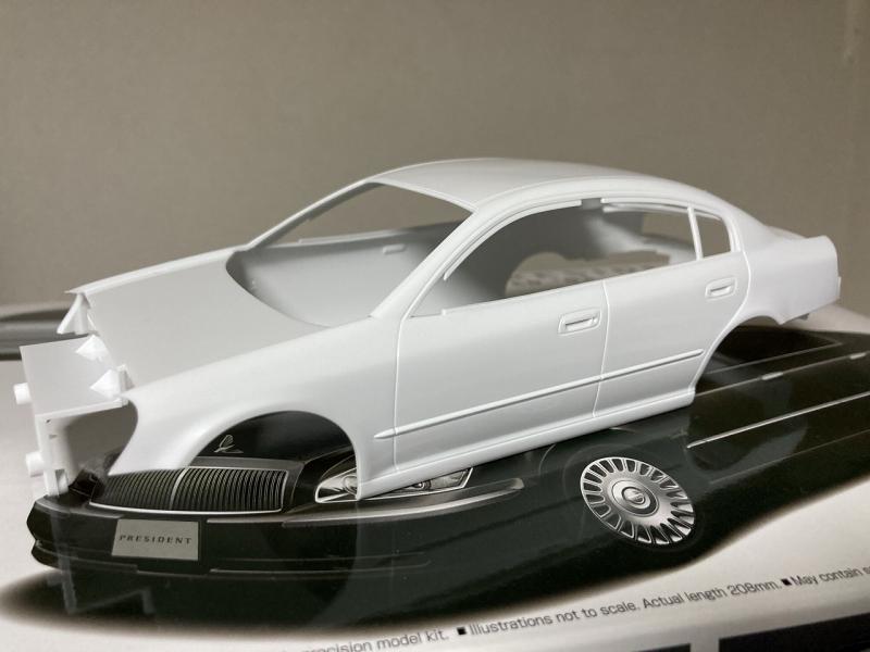 アオシマ モデルカー F50シーマ プレジデント