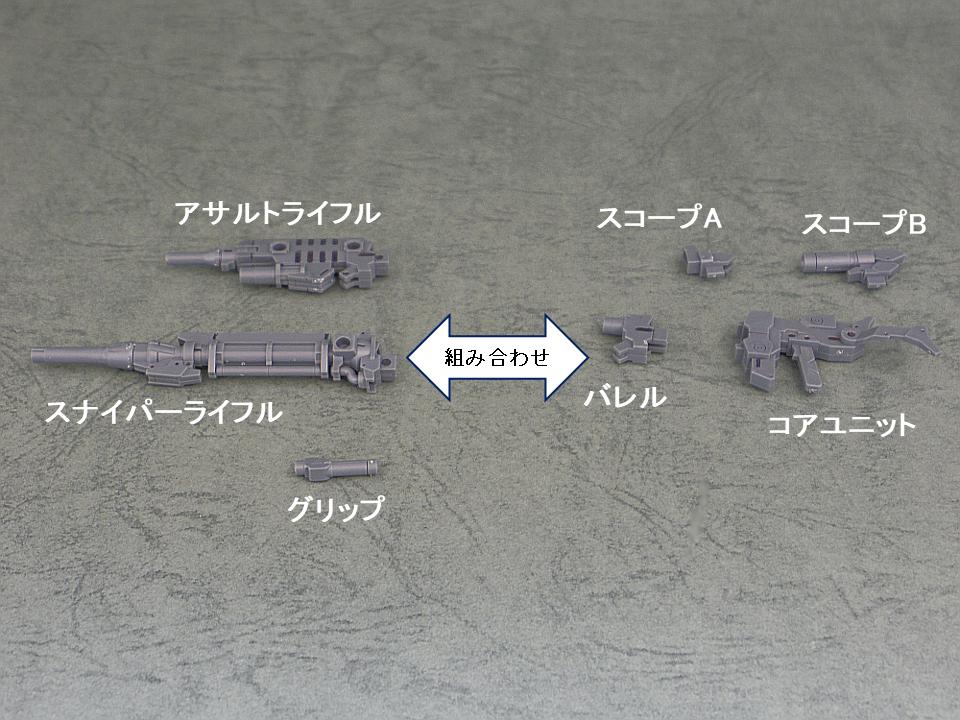 30mm アルト 武器セット2