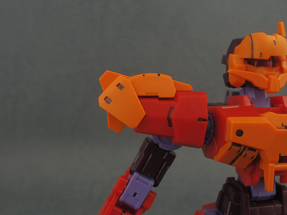 30mm 近接アーマー オレンジ13