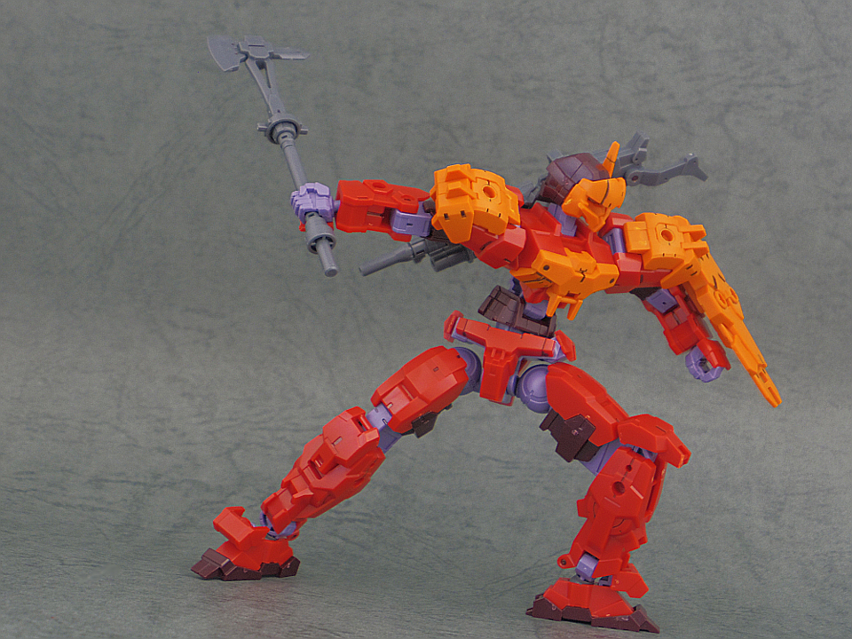 30mm 近接アーマー オレンジ27