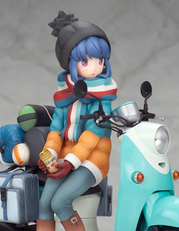 ゆるキャン△ 志摩リン with スクーター 110 完成品フィギュアFIGURE-050120_05