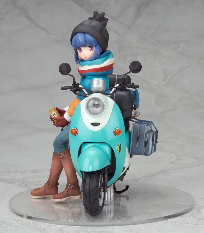 ゆるキャン△ 志摩リン with スクーター 110 完成品フィギュアFIGURE-050120_02