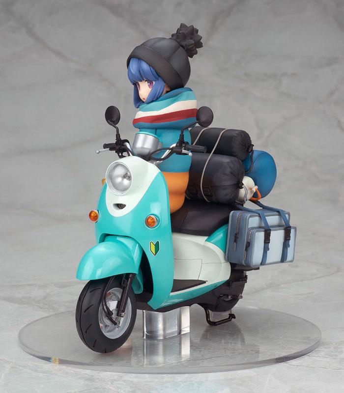 ゆるキャン△ 志摩リン with スクーター 110 完成品フィギュアFIGURE-050120_03