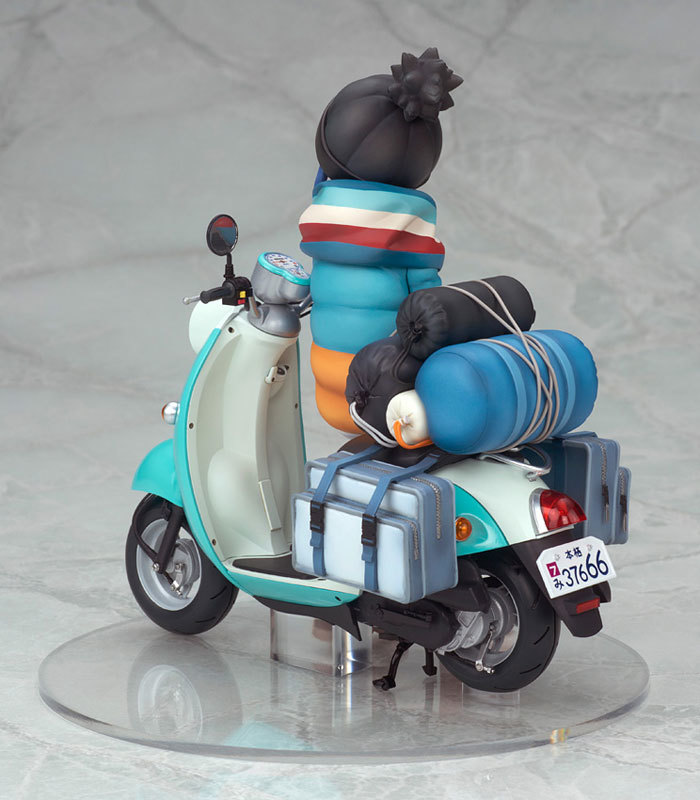 ゆるキャン△ 志摩リン with スクーター 110 完成品フィギュアFIGURE-050120_04