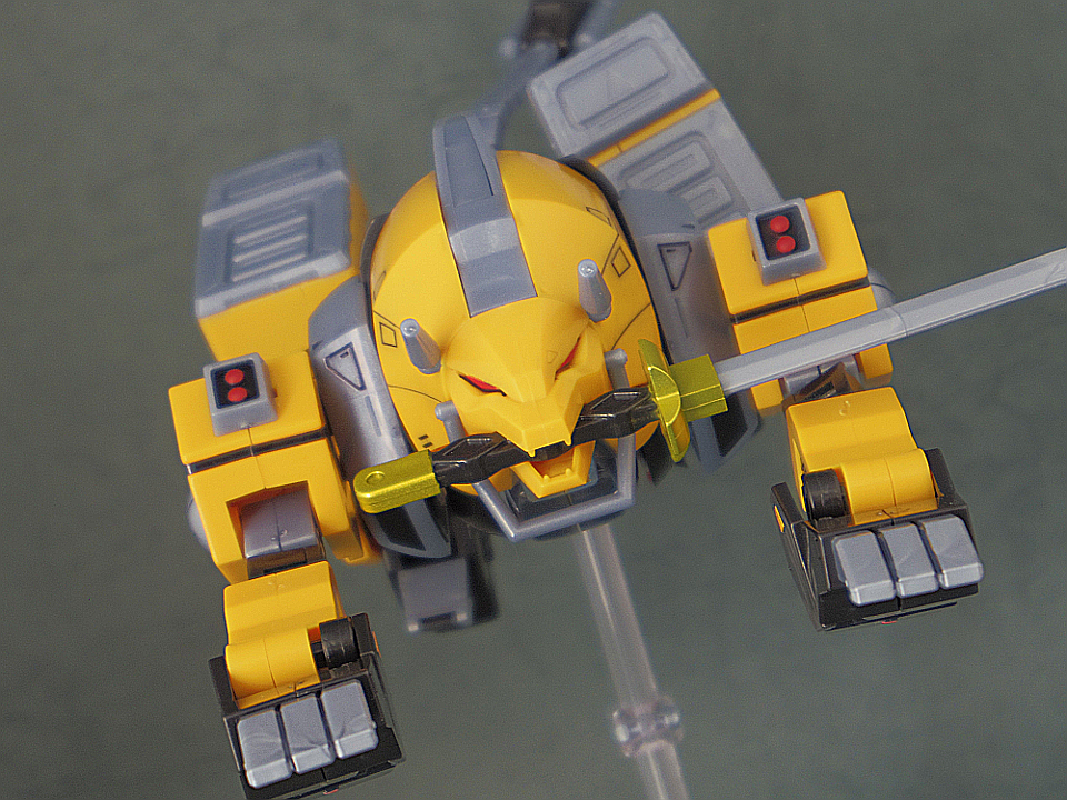 スーパーミニプラ 黒獅子151