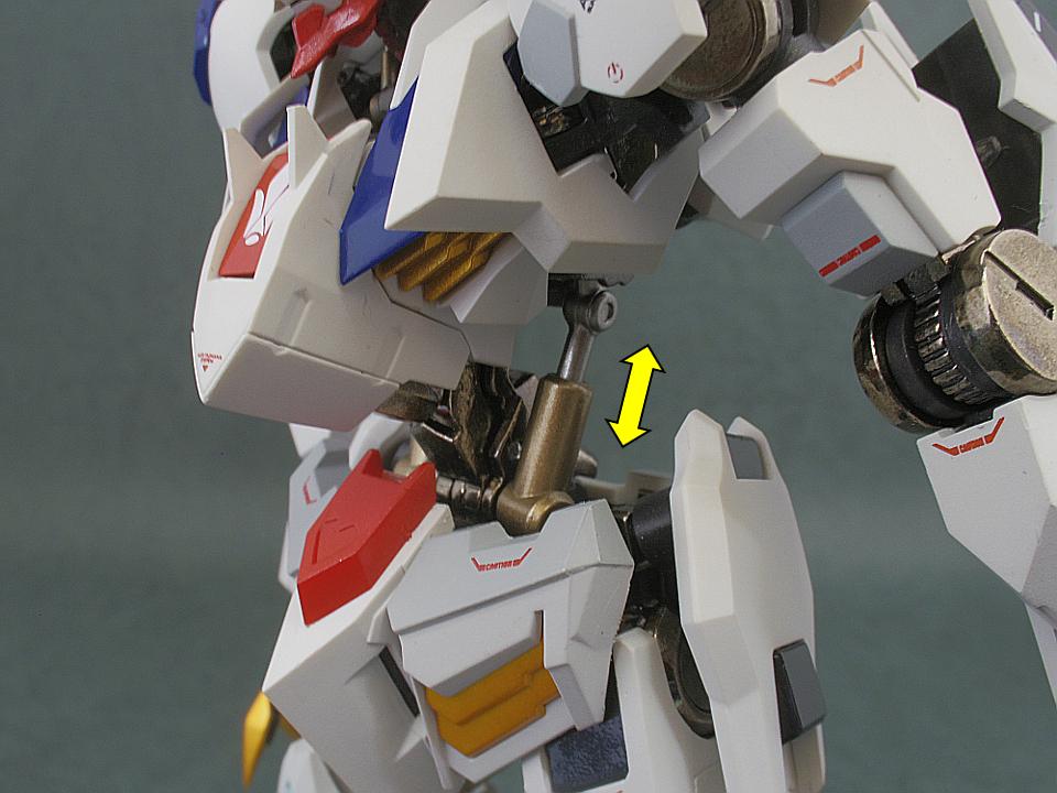 METAL ROBOT魂 バルバトスルプスレクス17