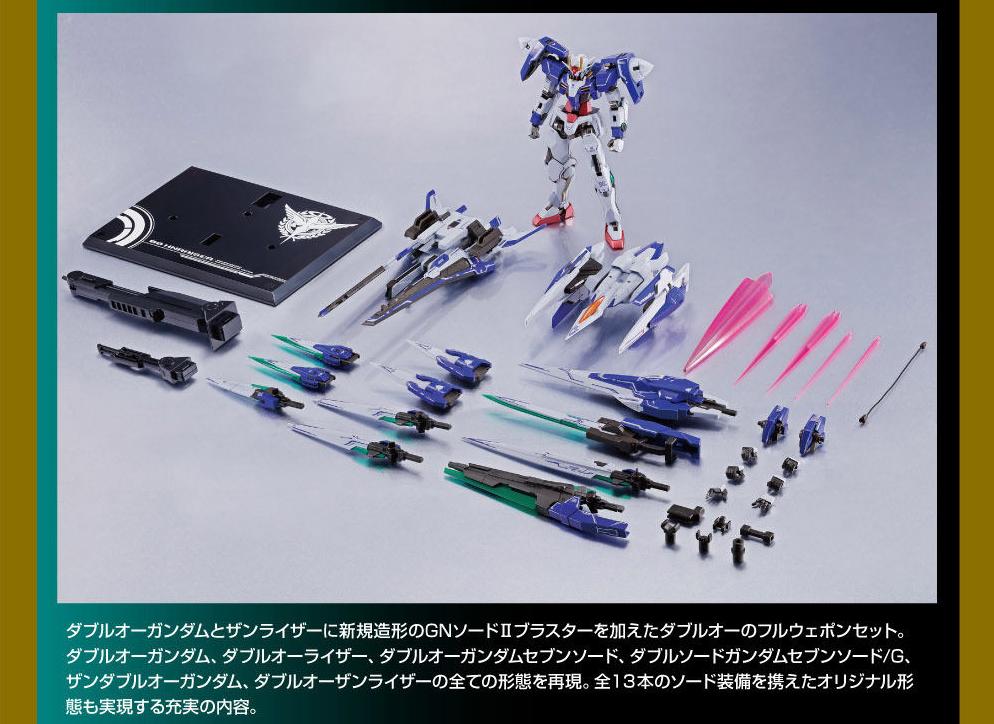 METAL ROBOT魂 ダブルオーザンライザーセブンソード_GNソードIIブラスターセット02