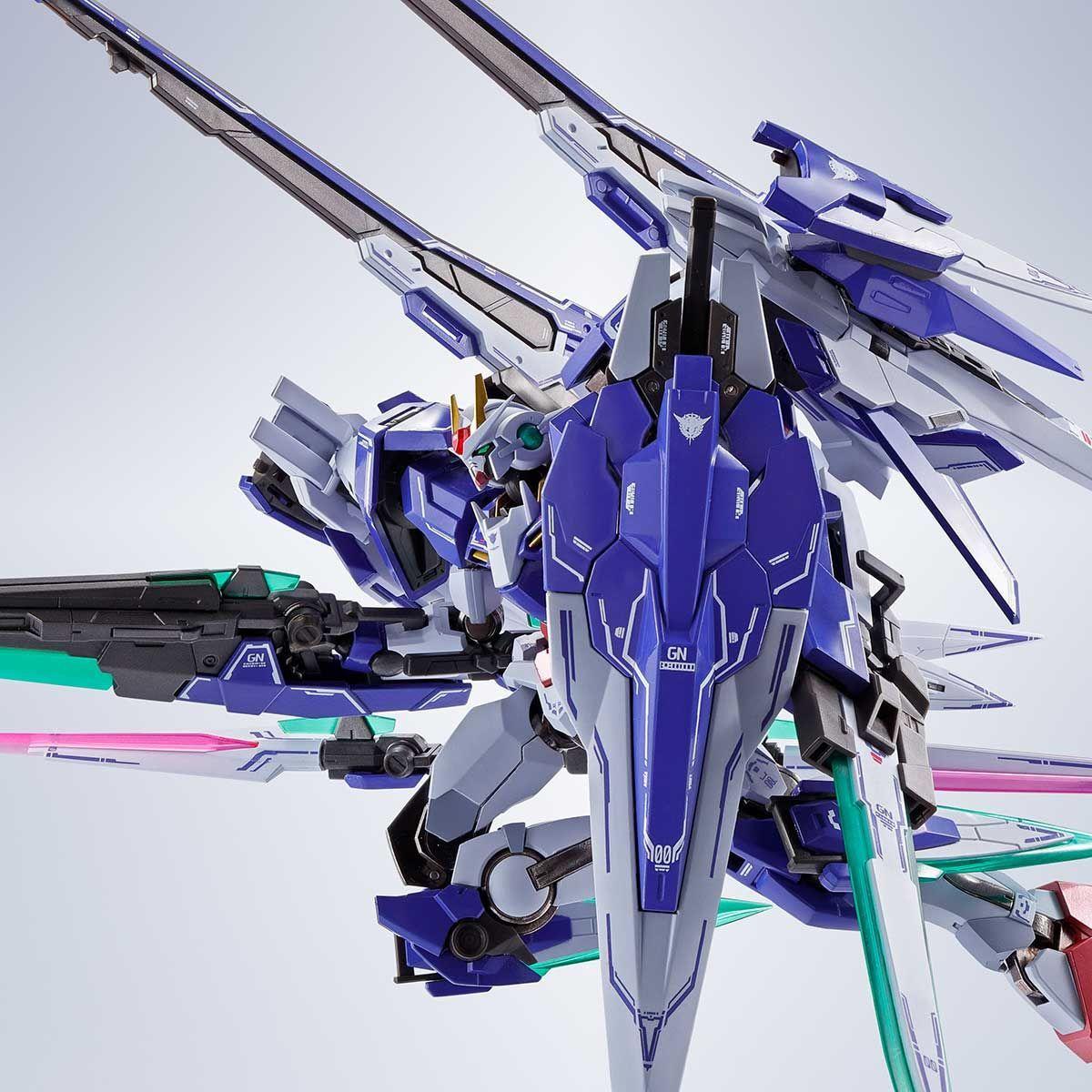 METAL ROBOT魂 ダブルオーザンライザーセブンソード_GNソードIIブラスターセット05