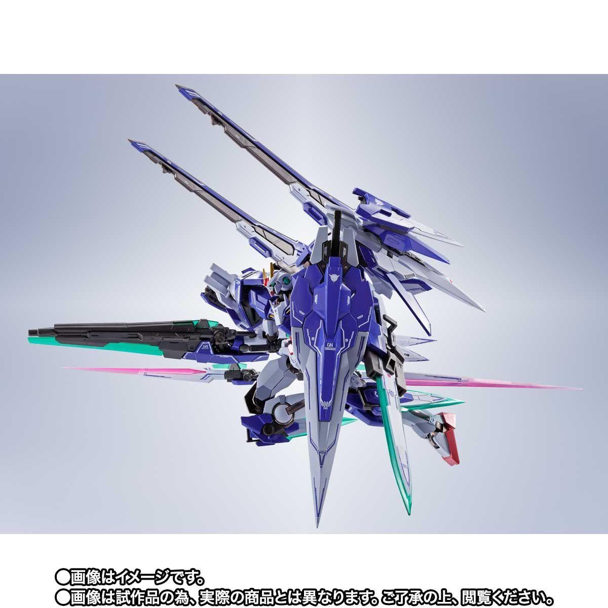 METAL ROBOT魂 ダブルオーザンライザーセブンソード_GNソードIIブラスターセット06
