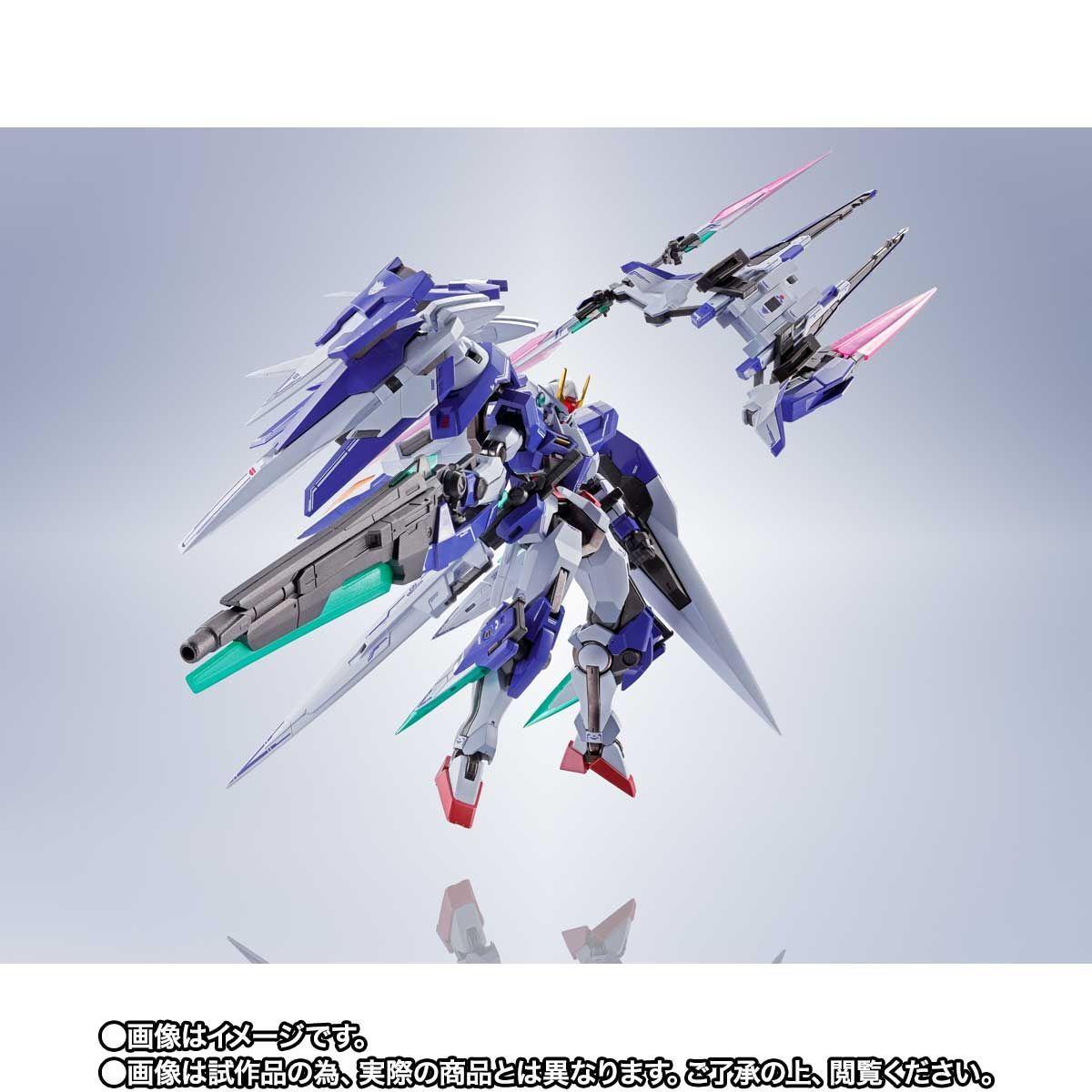 METAL ROBOT魂 ダブルオーザンライザーセブンソード_GNソードIIブラスターセット07
