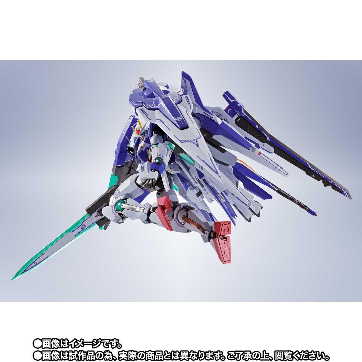 METAL ROBOT魂 ダブルオーザンライザーセブンソード_GNソードIIブラスターセット08