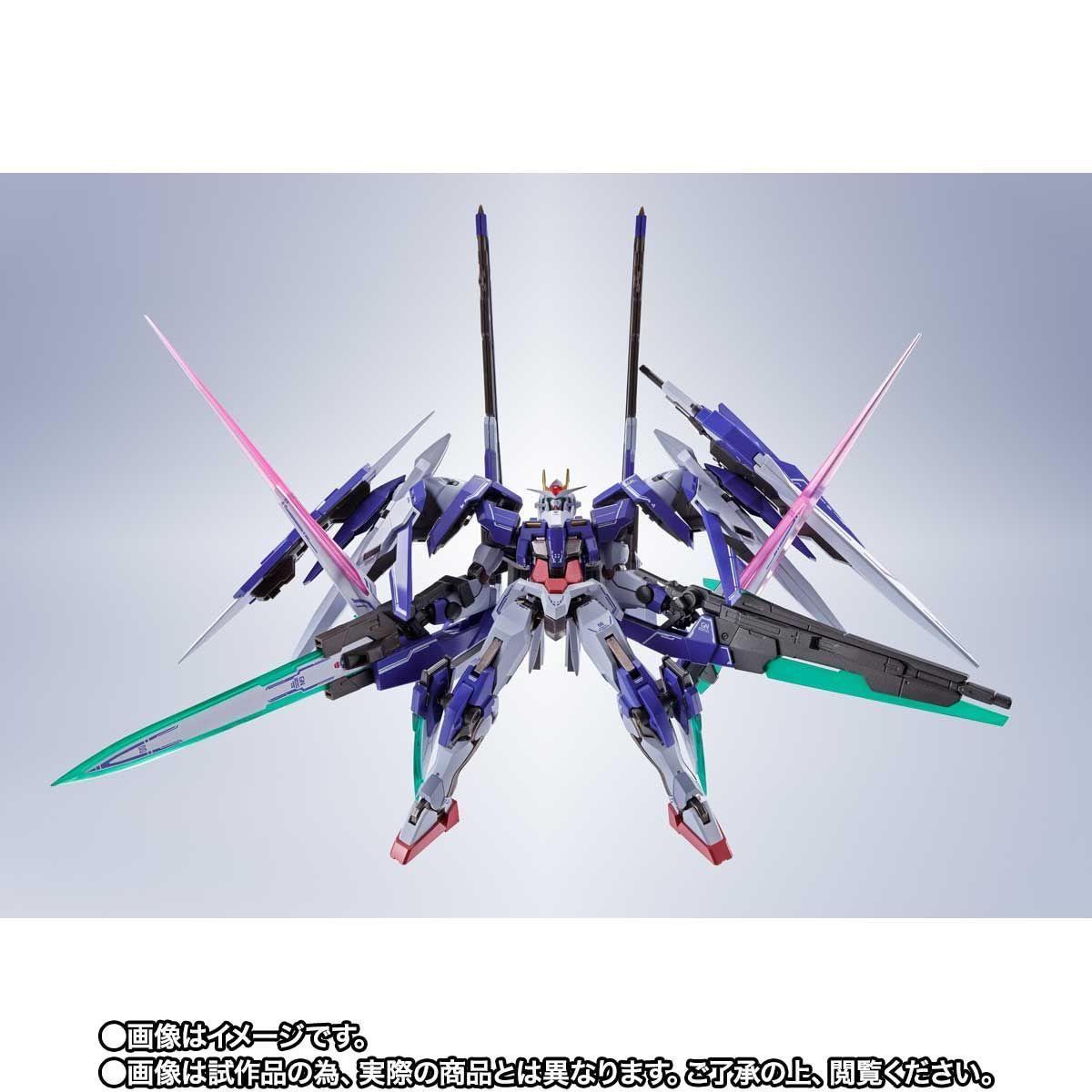 METAL ROBOT魂 ダブルオーザンライザーセブンソード_GNソードIIブラスターセット09