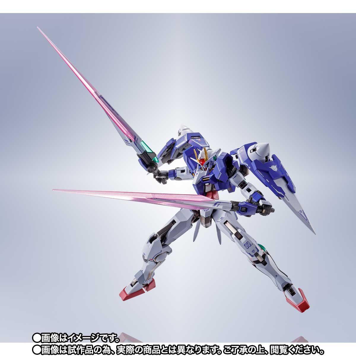 METAL ROBOT魂 ダブルオーザンライザーセブンソード_GNソードIIブラスターセット10