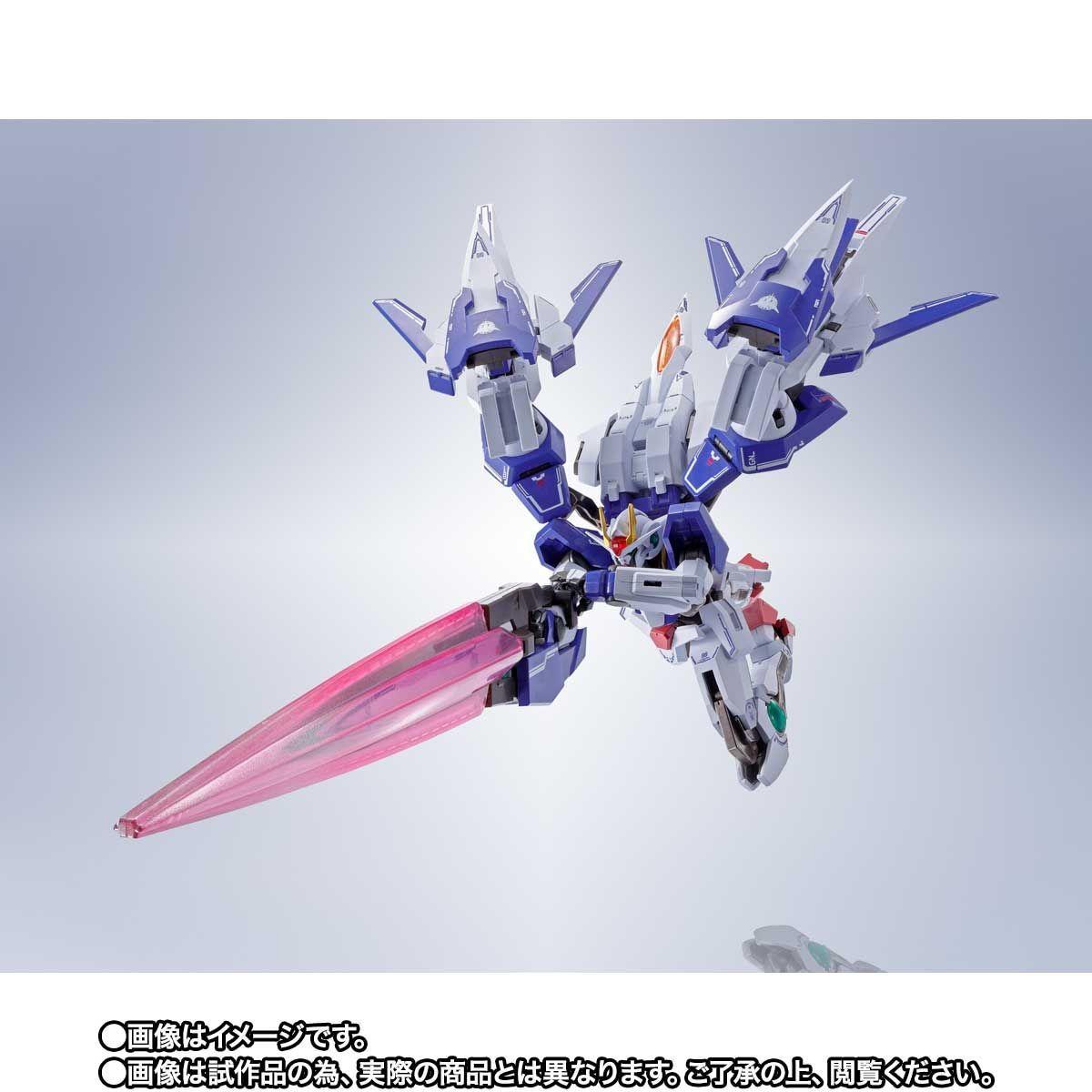 METAL ROBOT魂 ダブルオーザンライザーセブンソード_GNソードIIブラスターセット11