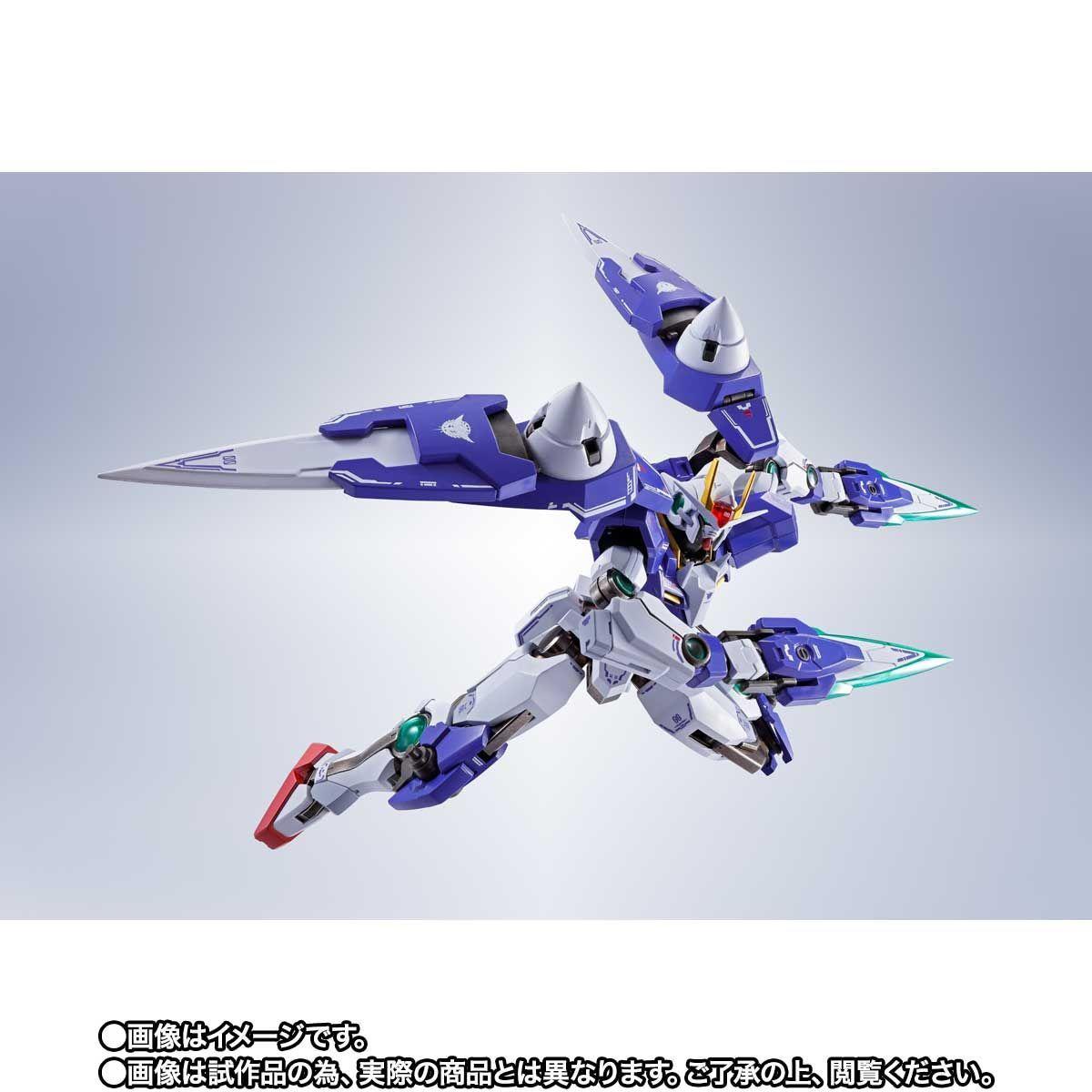 METAL ROBOT魂 ダブルオーザンライザーセブンソード_GNソードIIブラスターセット12