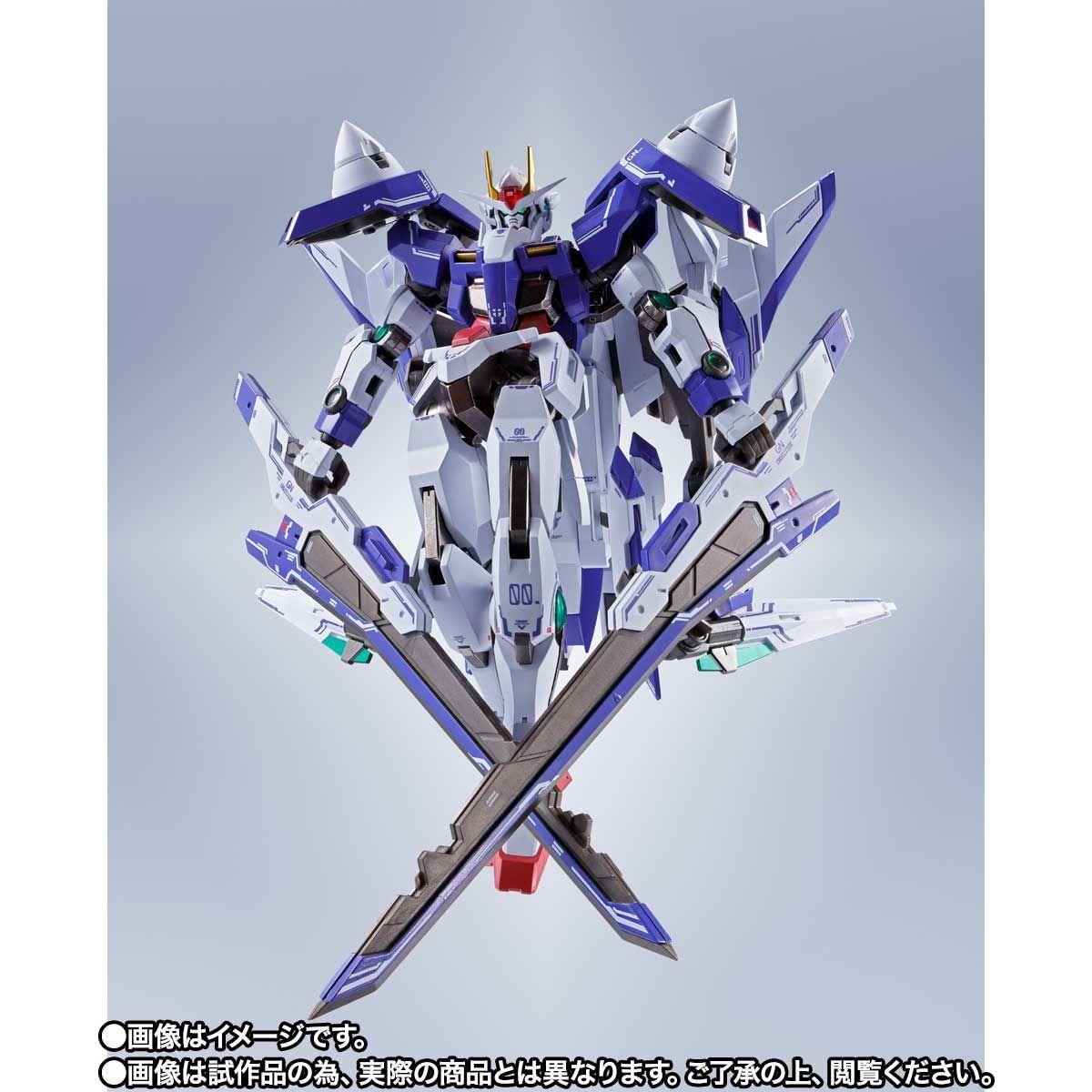 METAL ROBOT魂 ダブルオーザンライザーセブンソード_GNソードIIブラスターセット14