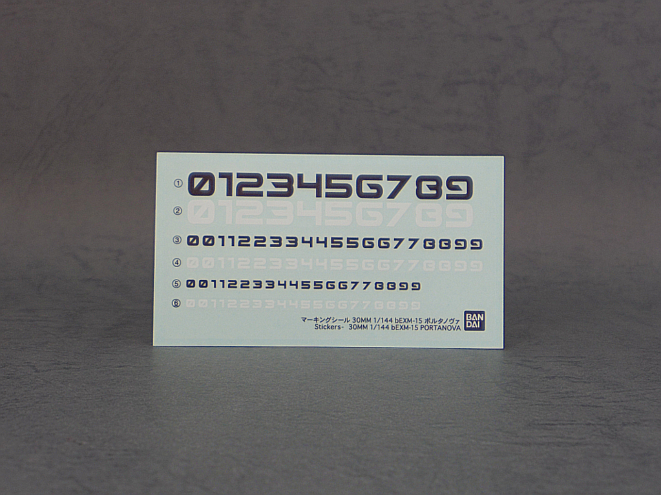 30MM ポルタノヴァ 宇宙2