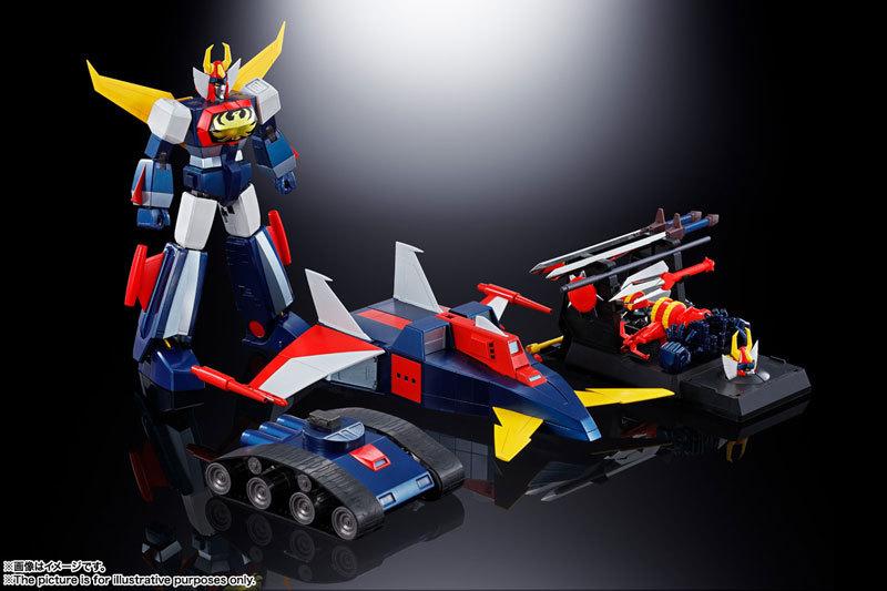 超合金魂 GX-66R 無敵ロボ トライダーG7FIGURE-059623_09