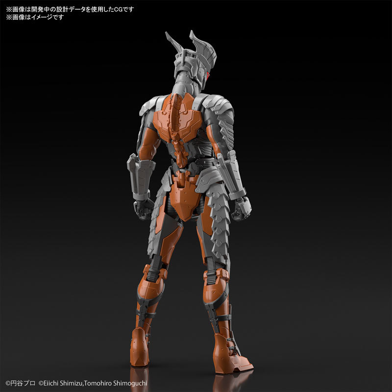 Figure-rise Standard ULTRAMAN SUIT DARKLOPS ZERO -ACTION- プラモデルFIGURE-060530_03
