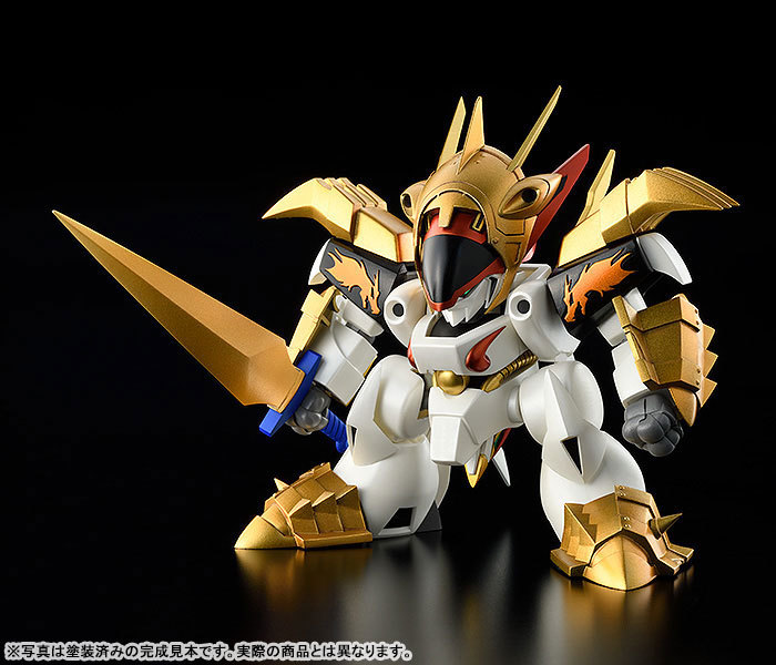 PLAMAX MS-07 真魔神英雄伝ワタル 鋼衣龍王丸 プラモデルTOY-RBT-5469_01