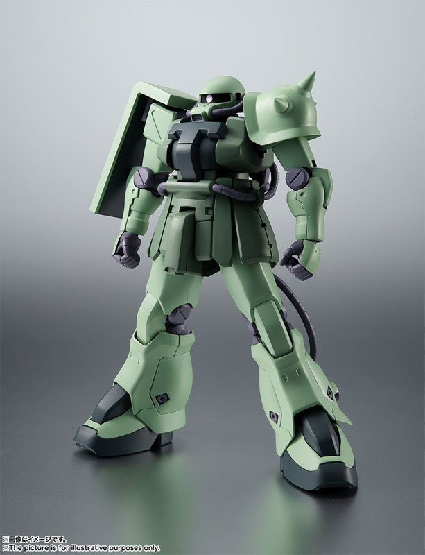 ROBOT魂 〈SIDE MS〉 MS-06F-2 ザクIIF2型FIGURE-060556_01