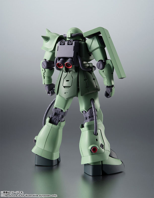 ROBOT魂 〈SIDE MS〉 MS-06F-2 ザクIIF2型FIGURE-060556_02