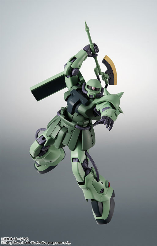 ROBOT魂 〈SIDE MS〉 MS-06F-2 ザクIIF2型FIGURE-060556_03