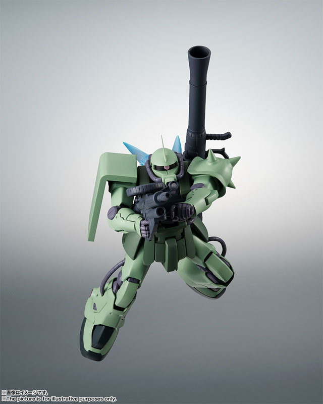 ROBOT魂 〈SIDE MS〉 MS-06F-2 ザクIIF2型FIGURE-060556_04