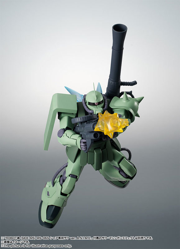 ROBOT魂 〈SIDE MS〉 MS-06F-2 ザクIIF2型FIGURE-060556_05