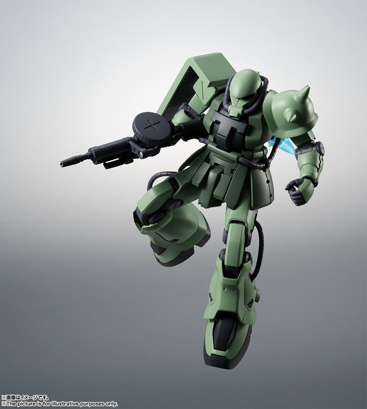 ROBOT魂 〈SIDE MS〉 MS-06F-2 ザクIIF2型FIGURE-060556_07