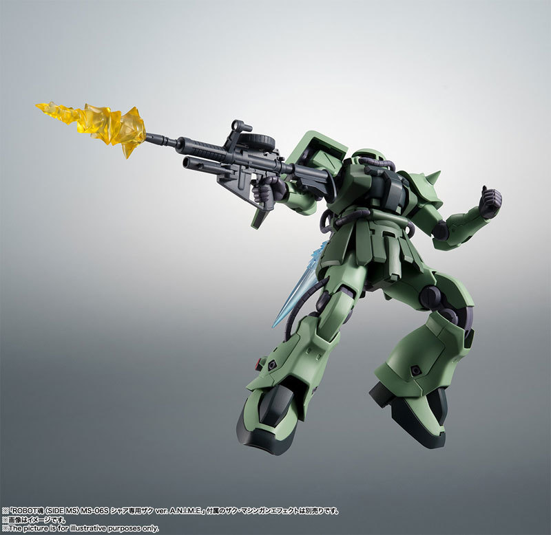 ROBOT魂 〈SIDE MS〉 MS-06F-2 ザクIIF2型FIGURE-060556_08
