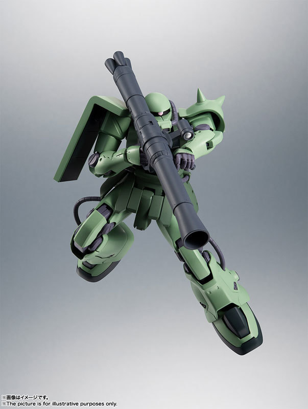 ROBOT魂 〈SIDE MS〉 MS-06F-2 ザクIIF2型FIGURE-060556_09
