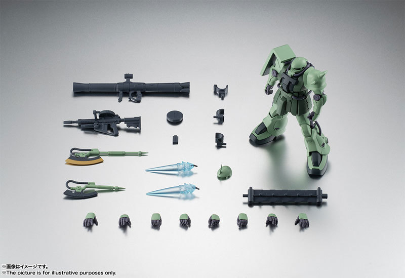 ROBOT魂 〈SIDE MS〉 MS-06F-2 ザクIIF2型FIGURE-060556_10