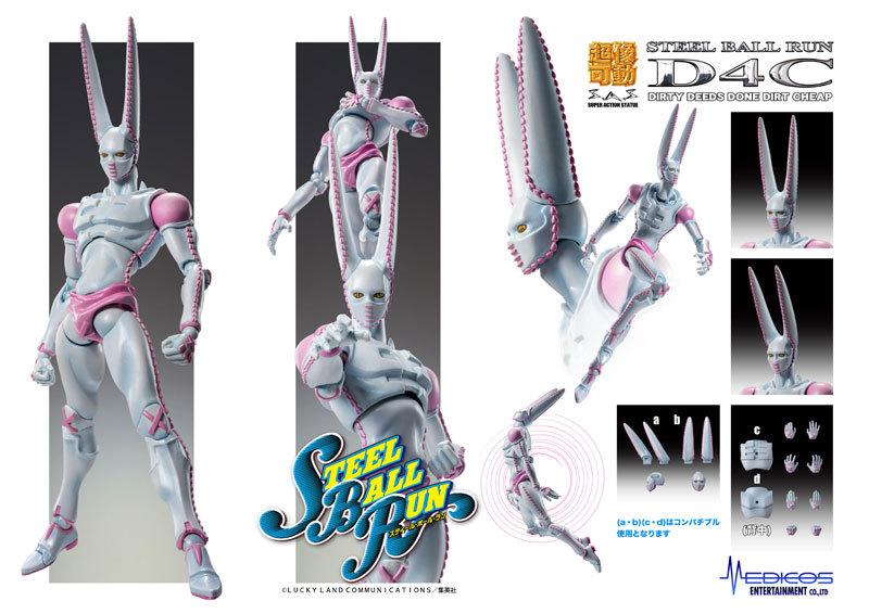 超像可動 ジョジョの奇妙な冒険 第7部 スティール・ボール・ラン D4CFIGURE-058846_07