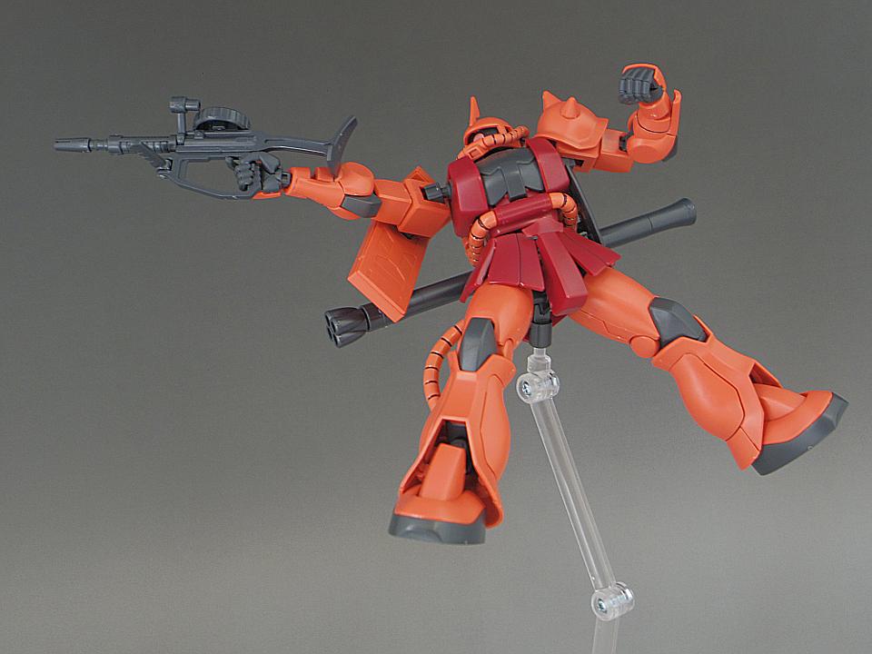 HG シャア ザクⅡ-76