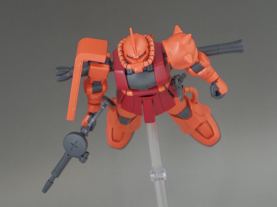 HG シャア ザクⅡ-71