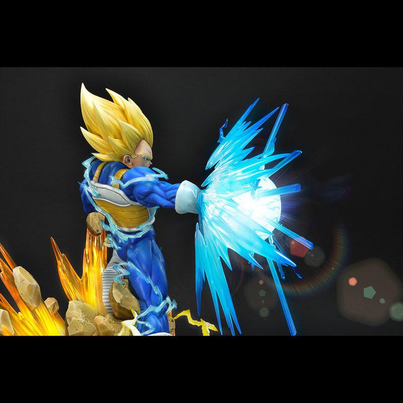 PRIME1STUDIO×MegaHouse メガプレミアムマスターライン ドラゴンボールZ ベジータ(超サイヤ人)FIGURE-610894_07